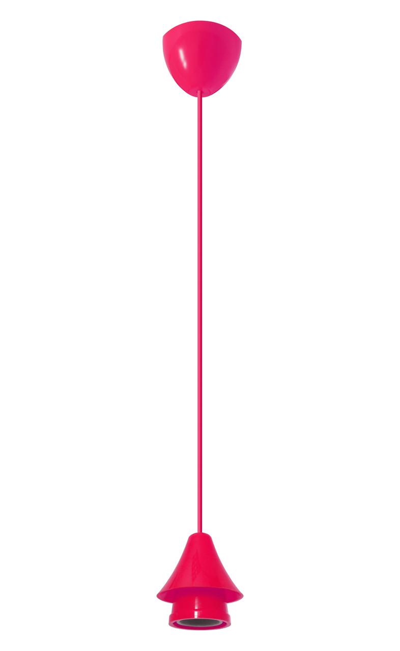 ERKA подвес для подвесного светильника 60W, Е27 розовый 0,8м