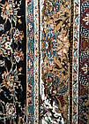 Ковер восточная классика Kashan P553 2Х3 СИНИЙ прямоугольник, фото 7