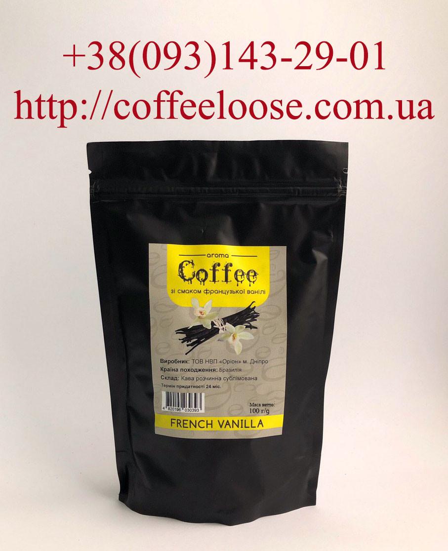 Кава розчинна ароматизований зі смаком Французька Ваніль 100 грам (Касік Бразилія)