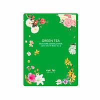 Тканевая маска с экстрактом зелёного чая EYENLIP Moisture Essence Mask Green Tea