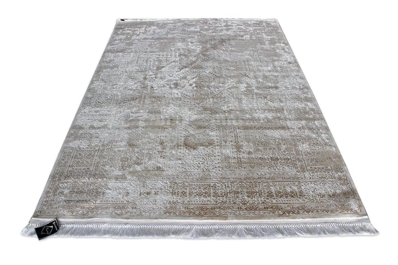 Коврик современный KASMIR HANZADE 0082 0,78Х1,5 Кремовый прямоугольник