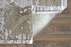 Коврик современный KASMIR HAZINE 0092 0,78Х1,5 Бежевый прямоугольник, фото 7