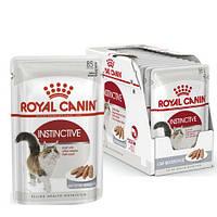 Royal Canin (Роял Канин) Instinctive (паштет) консервированный корм для кошек старше 1 года, 12 шт по 85гр, фото 1