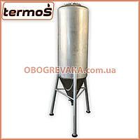 Ємність ЦКТ 400 літрів (циліндро-конічний танк ферментер, ЦКТ для пива, фото 1