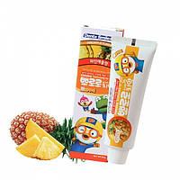 Зубная паста детская Ананас Pororo Toothpaste For Kids Pineapple 90g