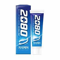 Зубная паста отбеливающая Aekyung 2080 Advance Blue Toothpaste Scrub Essence 120ml