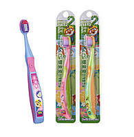 Зубная щетка для детей от 3 до 5 лет Pororo Toothbrush Step 2