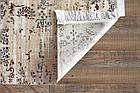 Коврик современный KASMIR HAZINE 0094 0,78Х1,5 Кремовый прямоугольник, фото 4