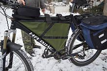 Універсальна велосумка-трансформер
