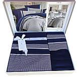 Шикарний Комплект постільної білизни євро Moonlight V. I. P Imaj Lacivert бренд First Choice, фото 2