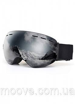 Sposune HX003-1 Matte Black-Mirror Grey