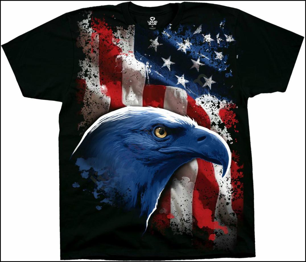Футболка Liquid Blue American Icon 31134