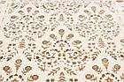 Коврик современный KASMIR MODA 0009 0,98Х2 Кремовый прямоугольник, фото 2
