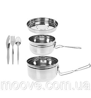 Summit Stainless Steel Tiffin Cookset 6 шт.