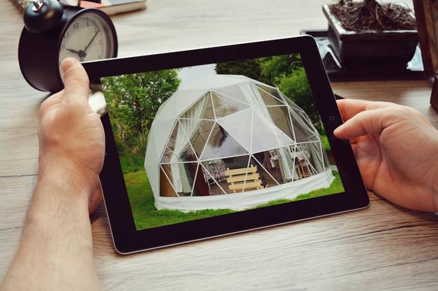 Купольные конструкции. Сферические шатры.