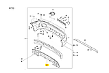 Підсилювач переднього бампера Ланос Сенс, ЗАЗ, tf69y0-2803080, фото 3