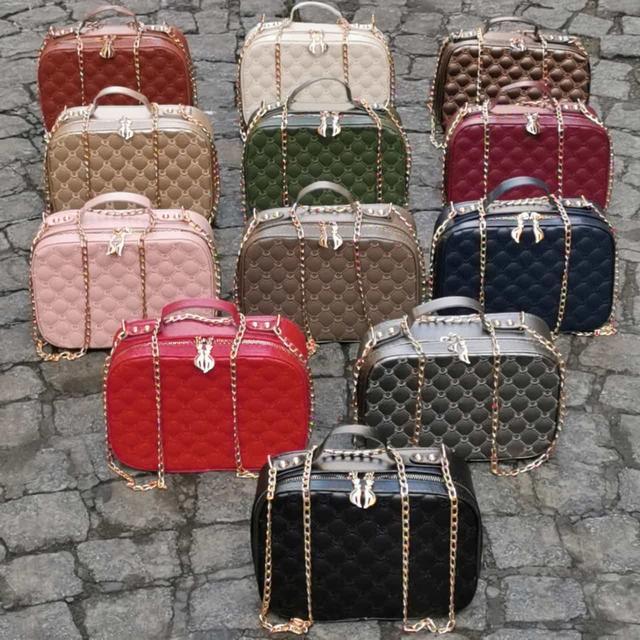 Стильная женская сумка мини чемоданчик