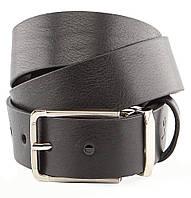 Ремень мужской GRANDE PELLE 00249 кожаный Черный, Черный