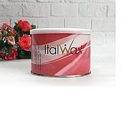 Теплый Воск для депиляции в банке Роза ItalWax 400 гр