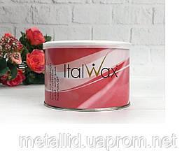 Теплий Віск для депіляції в банку Троянда ItalWax 400 гр