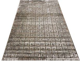 Ковер современный LIZA CHENILLE AI83A 2,5Х3,5 БЕЖЕВЫЙ прямоугольник