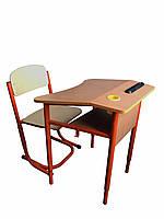 Комплект регулируемый одноместный для начальной школы НУШ 3 ( парта + стул )