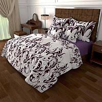 Комплект постельного белья Вензель двуспальный Gold K-G-N-6822-A-B