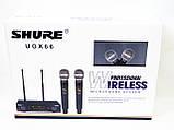 Радиосистема Shure UGX66 база 2 радиомикрофона, фото 9