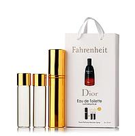 Міні-парфуми з феромонами чоловічий d'or Fahrenheit 3х15 мл