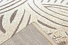 Коврик рельефные LUNA 2434B 1,5Х2,3 Коричневый овал, фото 2