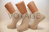 Лляные мужские носки в сеточку НЛ 25-27