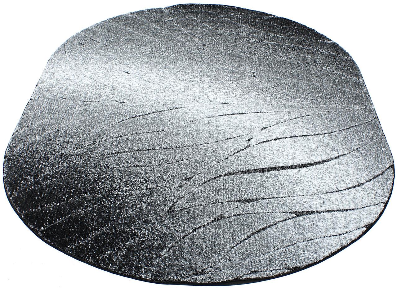Коврик рельефные LUNA 2460a 0,8Х1,5 Черный овал
