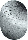 Коврик рельефные LUNA 2460a 0,8Х1,5 Черный овал, фото 4
