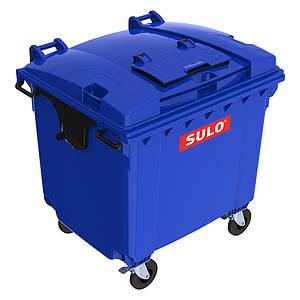 Sulo пластиковий сміттєвий контейнер кришка в кришці 1100 л.
