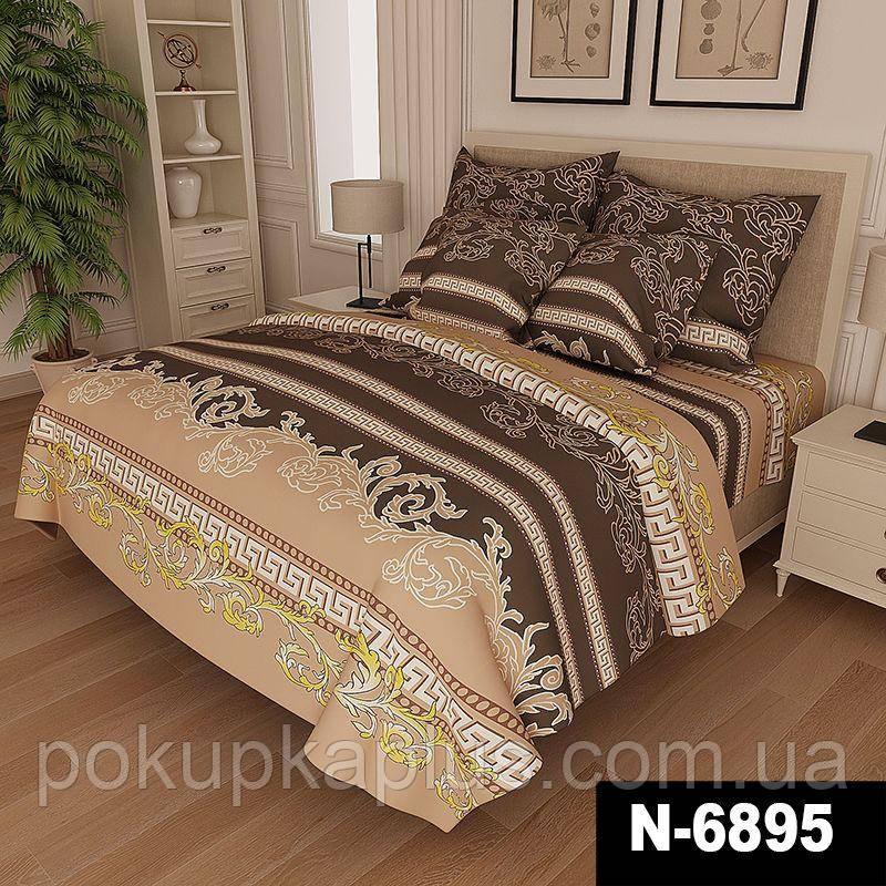 Комплект постельного белья Вензель Семейный Gold K-G-N-6822-A-B