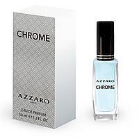 Мужской мини парфюм  Azzaro Chrome 50 мл