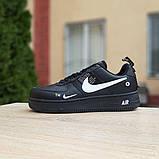 Кроссовки мужские Nike Air Force 1 LV8 черные, фото 2