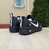 Кроссовки мужские Nike Air Force 1 LV8 черные, фото 5