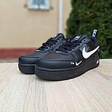Кроссовки мужские Nike Air Force 1 LV8 черные, фото 6