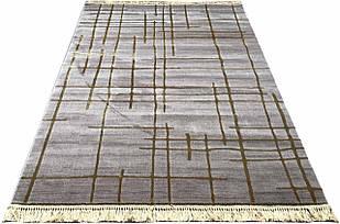 Ковер современный MANYAS W1702 1,6Х2,3 БЕЖЕВЫЙ прямоугольник