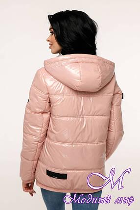 Стильная демисезонная куртка (р. 44-54) арт. 12-37/19-5А, фото 2