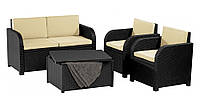 Комплект садовой мебели Maui Lounge Set (Modena) антрацит