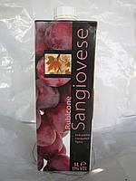 Вино красное Sangiovese Rubicone (Санджиовезе рубикон) 1 л