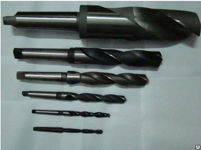 Сверло к/х ф 10 мм удлиненное Р6М5 250/165