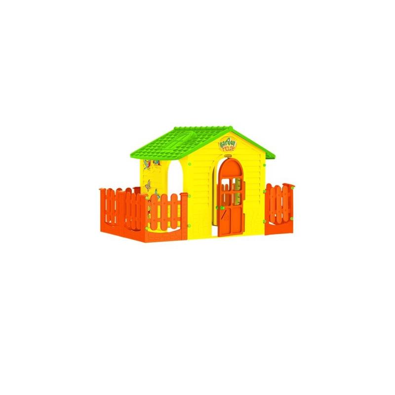 Ігровий будиночок Mochtoys з двома терасами