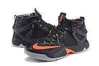 Баскетбольные кроссовки Nike Lebron 13 orange-black, фото 1