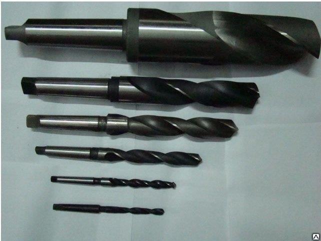 Сверло к/х ф 37 мм длинное Р18 375/225