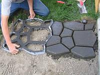 Форма для садовой дорожки 60x60 см Моя дорожка
