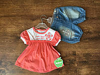 Стильный детский костюм для девочки