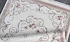 Ковер современная классика MIRADA 0121A 1,6Х2,3 БЕЖЕВЫЙ прямоугольник, фото 4